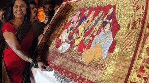 Most expensive sari has a $100K price tag