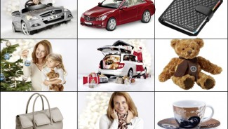 Mercedes-Benz Christmas collection for 2011 has a gift for everyone