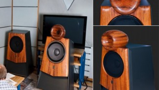 Nida Audio's MK1 horn-shaped loudspeaker system for the most demanding audiophiles