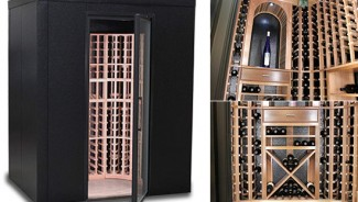 WineKeep Modular Wine Lockers are available in custom colors to match your decor