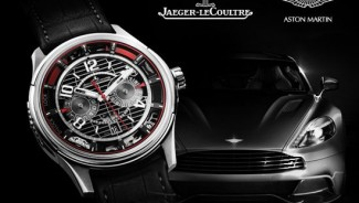 Jaeger-LeCoultre and Aston Martin present AMVOX7 chronograph equipped with a power reserve display