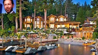 Larry Ellison's Lake Tahoe Mansion up for sale at $28.5 Million