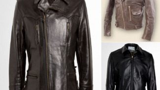 Bench & Loom leather biker jackets bring back the old-world charm