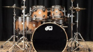 Drum workshop's Tamo Ash Exotic collector's series drum set: Just in time for Christmas