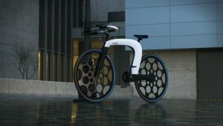 Revolutionary e-bike nCycle locks itself, carries your payload, plays music, & folds easily