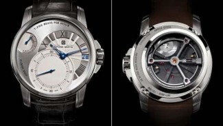 Antoine Martin Slow Runner watch boasts the world's largest and slowest balance with 7,200 beats per hour