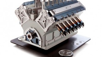 Limited Edition Espresso Veloce Coffee Machines Takes Automotive Art to Winning Lap
