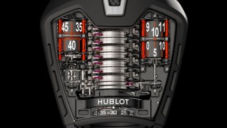 "Hublot MP-05 ""LaFerrari"" watch boasts a 50-day power reserve"
