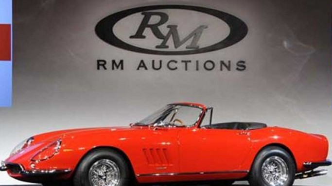 The Most Expensive Auctioned Ferrari in the World
