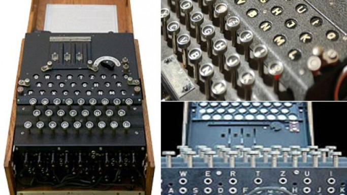Historic WW II Enigma encoding machine to go under the hammer