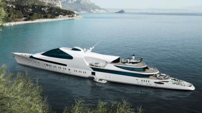 "ADM Shipyards launches 141-meter ""Yas"" superyacht to compete with the world's largest yachts"