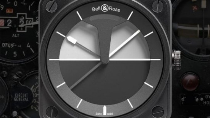 Bell & Ross BR 01 Horizon is inspired by aircraft cockpits