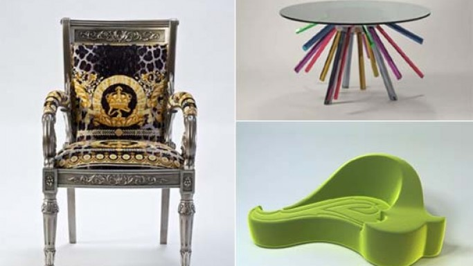 Versace Home collection mixes fashion and design at Milan fair