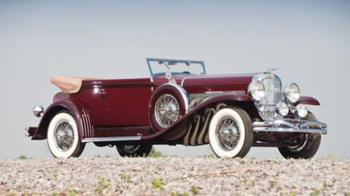 A 1930 Duesenberg SJ Convertible Victoria by Rollston is for sale at RM Auctions St John's 2012
