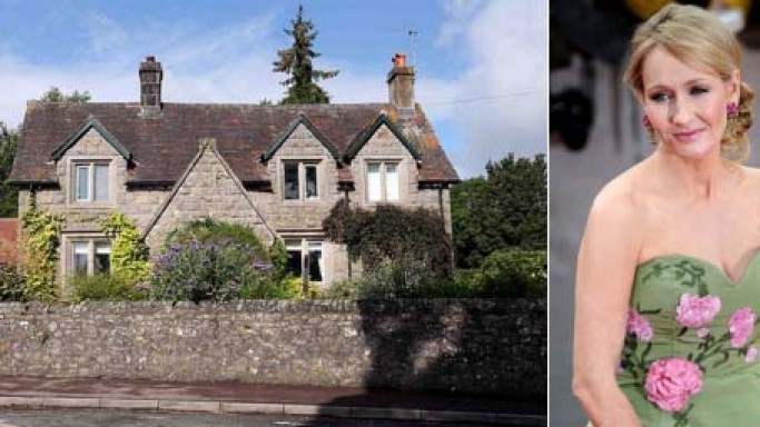 JK Rowling's home which inspired Harry Potter series and other real estate deals