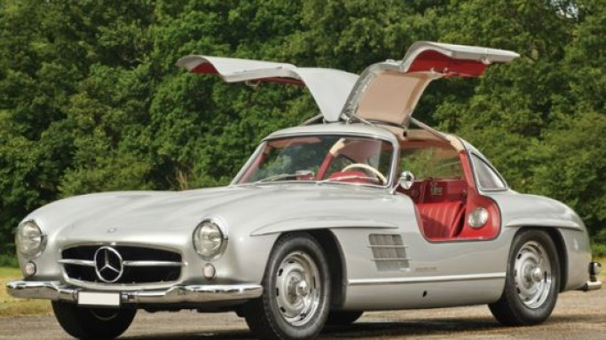A 1955 Mercedes-Benz 300SL Alloy Gullwing to fetch up to $5.18 Million
