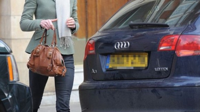 Middleton loved driving around in her metallic black Audi A3 before her marriage.