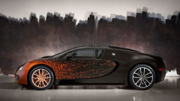 Bugatti Partners With French Artist for the Special Edition Veyron Grand Sport Venet