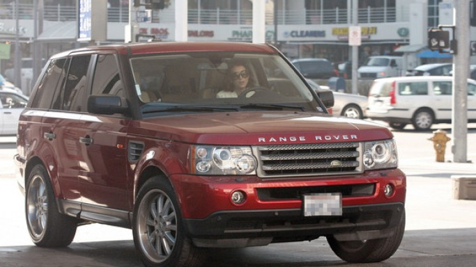 Kate Walsh loves to take out her burgundy Range Rover Sport to finish personal tasks like shopping for groceries and visiting friends.