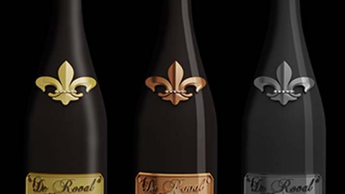 Luxury champagne De Roval is a promise of happiness and the French 'art de vivre'