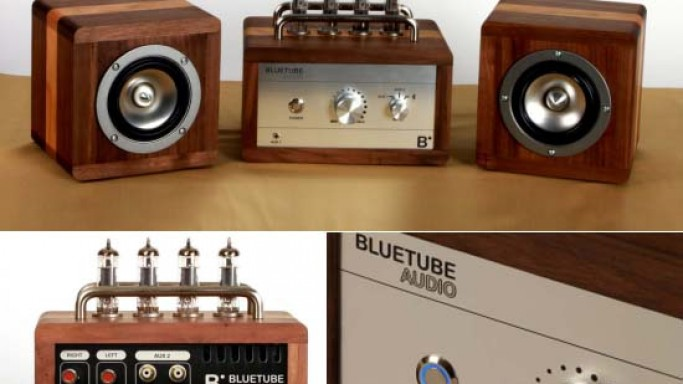 Bluetube Audio Vacuum Tube Amplifier offers true analog sound the way it was supposed to be
