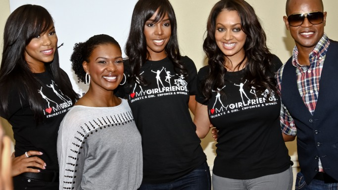 Kelly Rowland supports Caudwell Children program