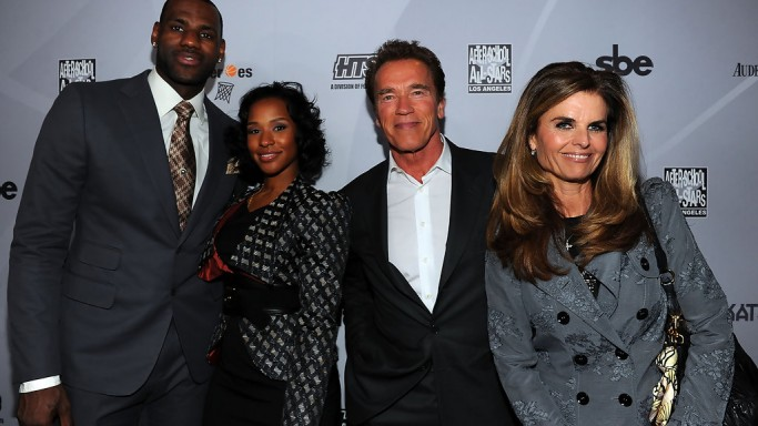 Maria Shriver attends After school All stars event with Arnold