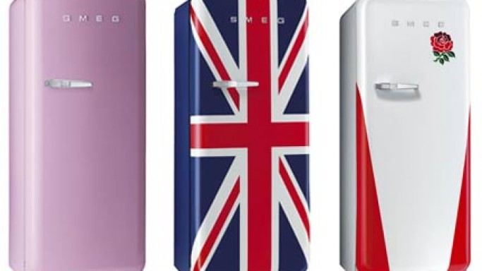 SMEG's Colorful Refrigerators