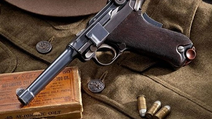 Rare Luger handgun goes on the auction block