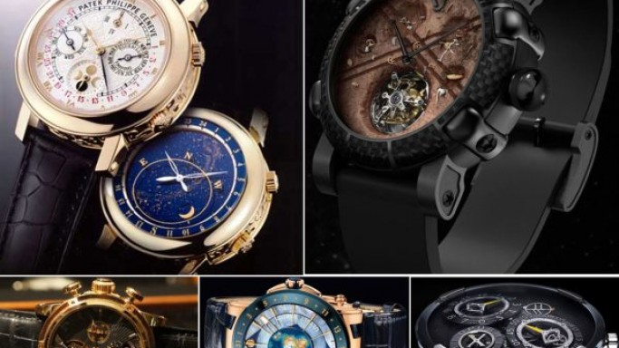 Space inspired luxury watches for the most discerning gentlemen