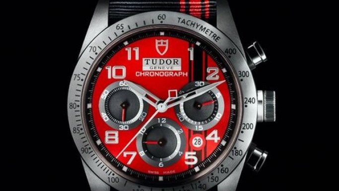 The Tudor Fastrider Chronograph symbolizes affection for Ducati Bikes