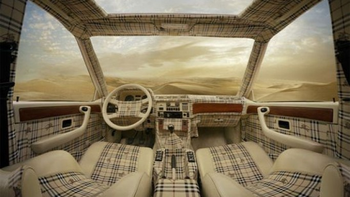 Dress up your cars with Louis Vuitton  Burberry interiors  Bornrich
