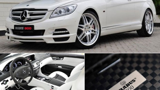 Brabus tuned Mercedes showcase at the Dubai International Motor Show