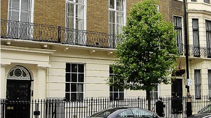 Madonna house in London's Marylebone
