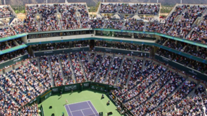 BNP Paribas Open Larry Ellison