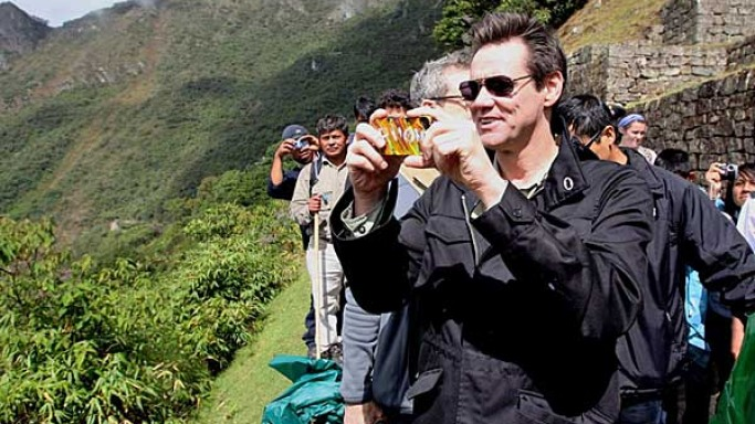 Jim Carrey in Peru