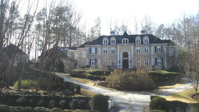 Akon house in Alpharetta, in Atlanta, Georgia, USA
