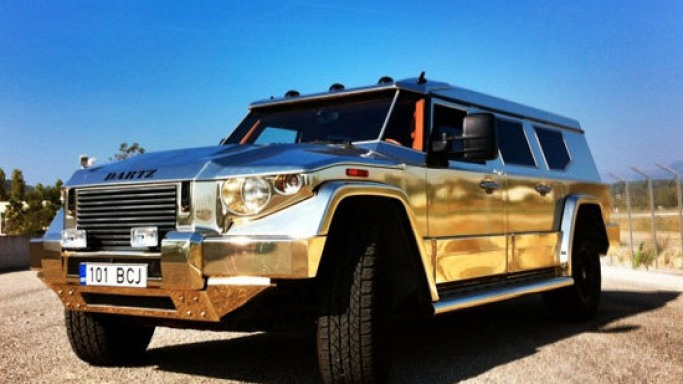 The Dartz Aladeen Edition Prombron to sell for $500,000