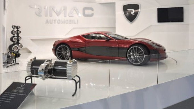 Rimac Concept One electric supercar goes for sale