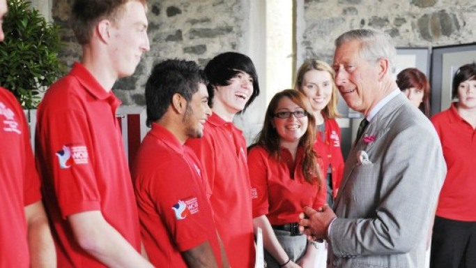 Prince Charles meets the brand ambassadors of Prince's Trust