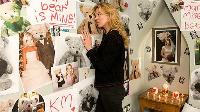 Kate Moss in Comic Relief video