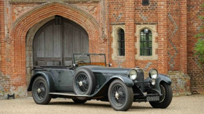 Lost Mercedes 1927 supercharged 'S' Type to go on sale