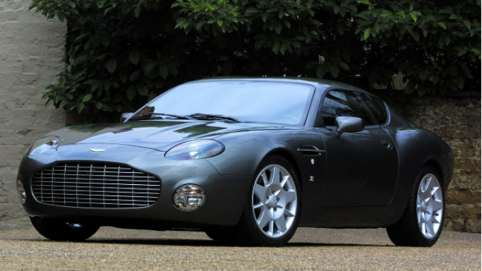 The singer loves to drive around in the iconic Aston Martin DB7 sports car