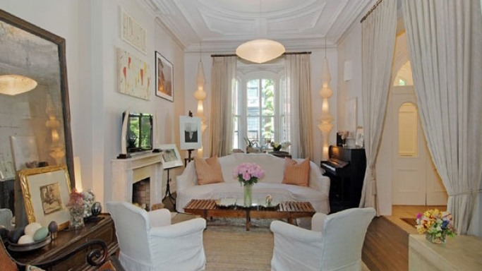Uma Thurman's Greenwich Village home