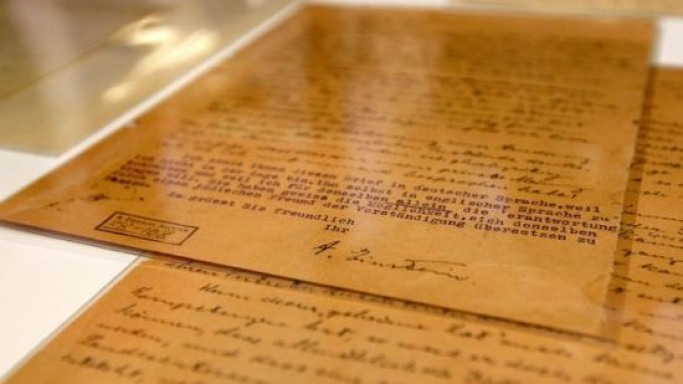 Albert Einstein's 'God Letter' handwritten a year before his death to auction at eBay starting at$3M