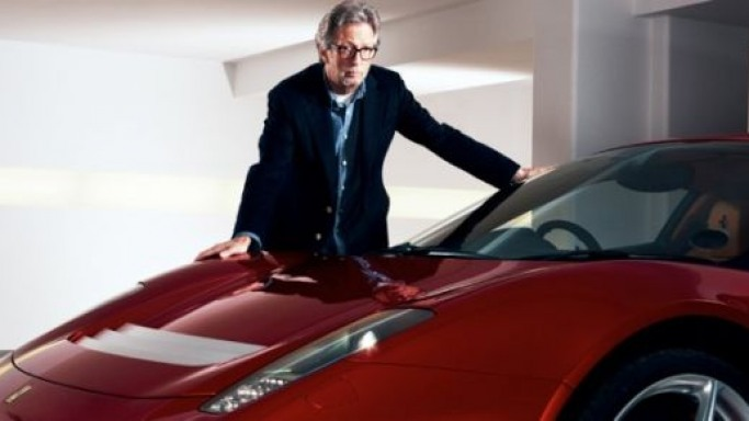 Eric Clapton says there's nothing more precious in the world of Ferrari than having built you own version of Ferrari