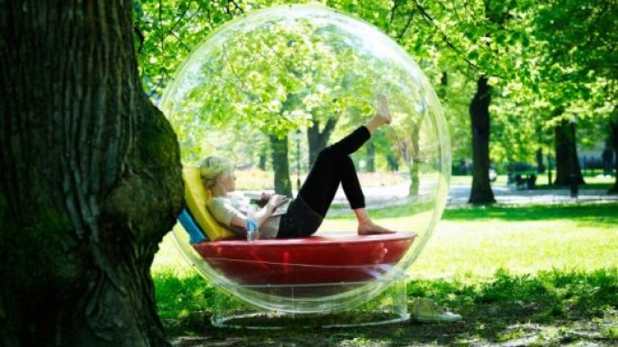 Cocoon 1 modular transparent pod is a fun zone right in your home