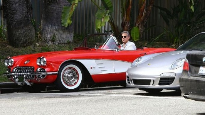 photo of George Clooney Chevrolet Corvette V8 C1  - car