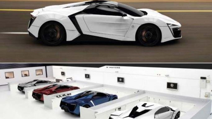 W Motors $3.4 million Lykan Hypersport is the first Arabian supercar with diamond-encrusted LED lights