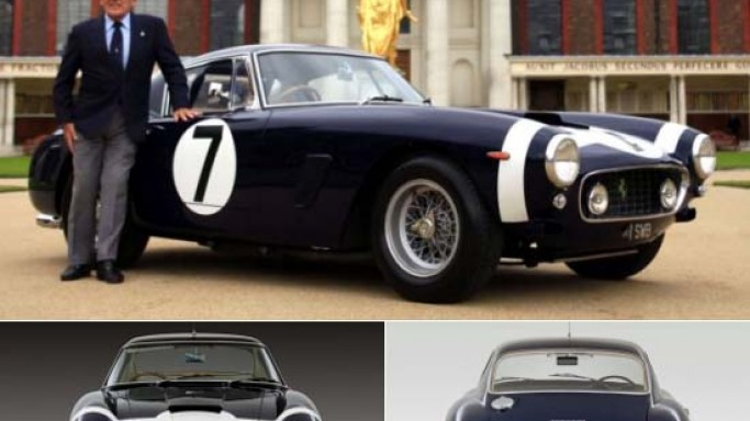 Stirling Moss Ferrari 250 GT SWB that he raced to victory three times in 1960 sells for $11 million